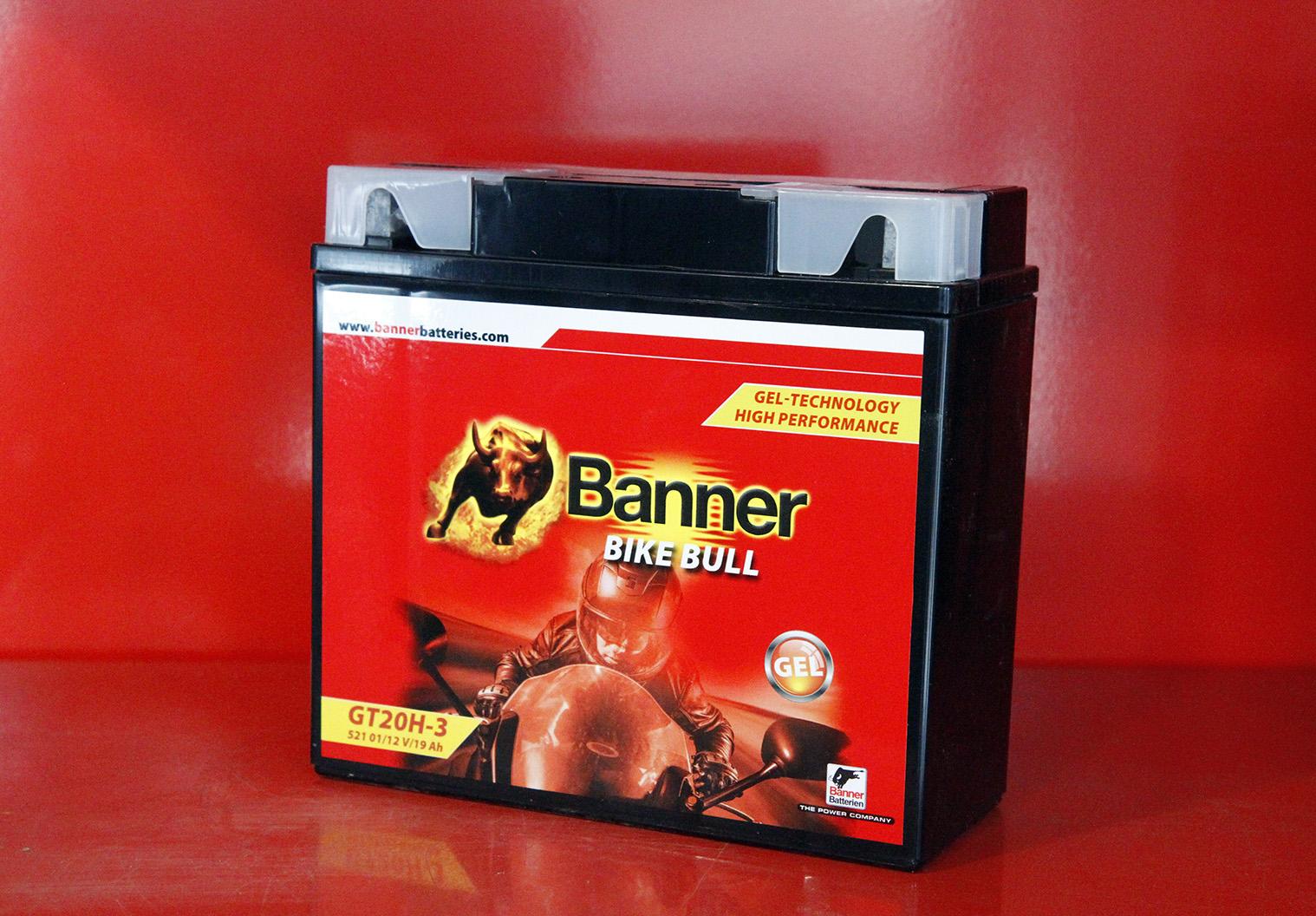 BATTERIE MOTO AGM 52001 BANNER