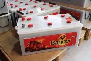 BATTERIES BANNER POIDS LOURDS 225 AH