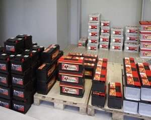 STOCK PERMANENT DE BATTERIES